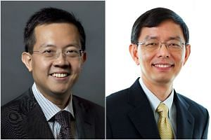 Mr Leo Yip (left) will take over from outgoing Civil Service head Peter Ong.