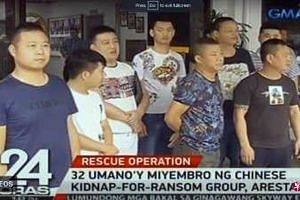 The Singaporean woman's rescue eventually led to the arrests of 45 suspects linked to a loan-shark and kidnap-for-ransom syndicate.