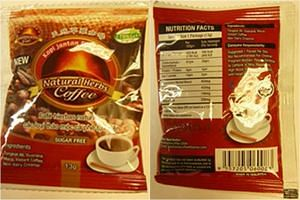 """Grand Prairie, Texas-based Bestherbs Coffee, is voluntarily recalling all lots of the uniquely spelled """"New of Kopi Jantan Tradisional Natural Herbs Coffee"""" due to undeclared ingredients."""
