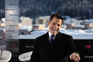 Anthony Scaramucci, SkyBridge Capital Founder and aide to US President-elect Donald Trump in Davos, Switzerland, on  Jan 17, 2017.