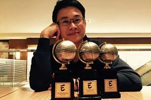 Graphic novelist Sonny Liew won three out of six nominations for his graphic novel, The Art Of Charlie Chan Hock Chye, at the Will Eisner Comic Industry Awards.