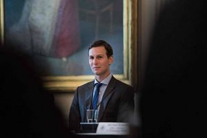 Jared Kushner, son-in-law and senior adviser to US President Donald Trump, attends an American Leadership in Emerging Technology roundtable in the East Room of the White House in Washington, DC, on June 22, 2017.