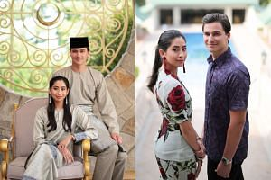 Johor princess Tunku Tun Aminah Maimunah Iskandariah Sultan Ibrahim will wed Dutchman Dennis Muhammad Abdullah on Aug 14. On Saturday, the Johor Royal Press Office released some photos of the couple dressed in traditional and casual outfits.
