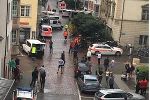 At least five people were injured in an attack in the Swiss town of  Schaffhausen on Monday (July 24).