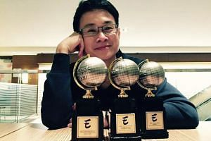 Graphic novelist Sonny Liew is the first Singaporean to win an Eisner award.