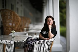 Japanese designer Chitose Abe says Singapore's hot weather may have given her some inspiration.
