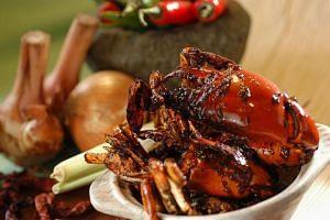 Black Pepper Crab.