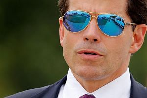 Mr Anthony Scaramucci, handpicked by President Donald Trump, is said to have a temper.