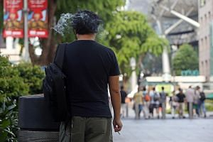 From July 1 next year, smokers will no longer be able to light up in public spaces along Orchard Road except at designated smoking areas. Mr Zeng Ling Xiang quit smoking with the help of the HPB's I Quit programme.