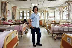 Ms Monica Quek continued to take on ad hoc jobs after retirement. She returned to nursing as a part-timer five years ago.
