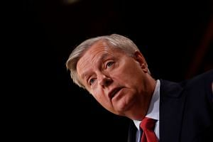 Graham (above) said that if diplomacy fails to halt the programme, the US will have no choice but to take military action.