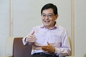 Finance Minister Heng Swee Keat was given the honour for his role in securing Singapore's social and economic future.