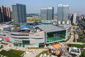 Capitaland's profit jump was due to higher contribution from development projects in China and higher rental income from newly acquired and opened properties.