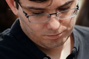 Former drug company executive Martin Shkreli exits the US District Court after being convicted of securities fraud in the Brooklyn borough of New York City, US on Aug 4, 2017.