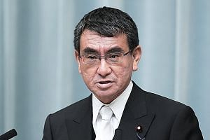 Mr Taro Kono is known to be a reform-minded left-leaning advocate within the conservative Liberal Democratic Party.