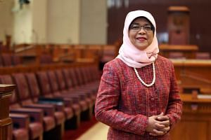 Madam Halimah Yacob will contest in the upcoming presidential election.