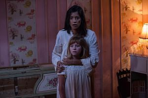 Stephanie Sigman, who plays a nun looking after a group of female orphans, stars in horror flick Annabelle: Creation with Lulu Wilson.
