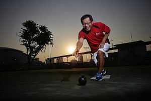 Lawn bowler Chia Tee Chiak is headed to Kuala Lumpur later this month as the oldest member of Singapore's SEA Games contingent, where he will try to win another medal for the Republic to add to his silver from the 2007 Games.