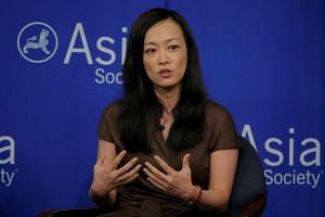 Sue Mi Terry, director at Bower Group Asia, speaks on a Crisis on the Peninsula: Implications for the U.S. - Korea Alliance panel at the Asia Society in New York.