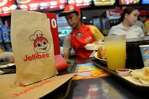 A Jollibee store in Manila in 2015. As of end-May, Jollibee Foods had 3,555 stores globally across 12 brands in 17 countries.