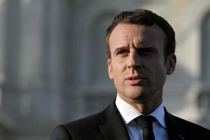 "French President Emmanuel Macron said the international community needed to work to get Pyongyang to ""resume the path of dialogue without conditions""."