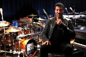 Lionel Richie poses for a portrait while promoting his upcoming North American tour in Burbank, California.