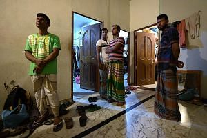 Some foreign workers of the company, registered in the name of two Bangladesh nationals, described their plight to The Sunday Times last week. They also showed its reporters their dormitory in Geylang. There was overcrowding and living conditions wer