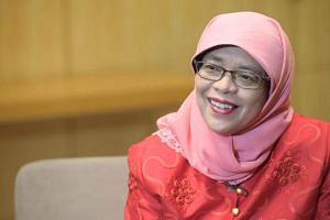 Halimah Yacob will contest in next month's presidential election, becoming the first woman to run for the highest office.