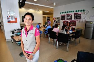 Ms Christina Chu says the chance to take on a fresh role, such as in play therapy, allows her to contribute to patient care in new ways. The veteran volunteer has served in a wide variety of roles over the years, ranging from helping out at health ev