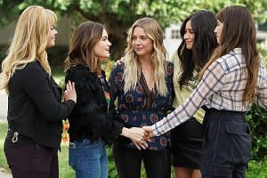 Facebook is eyeing shows attractive to people in their mid-teens up to mid-30s, along the lines of frothy fare such as Pretty Little Liars (above).