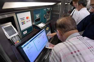 Many senior citizens primarily use cash to top up their ez-link cards. Some are concerned about the public transport system's push to go cashless, where all self-service ticketing machines at MRT stations and bus interchanges will accept only cashles
