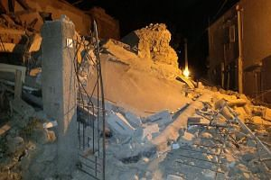 An earthquake hit the popular Italian tourist island of Ischia, off the coast of Naples, causing several buildings to collapse on Aug 21, 2017.
