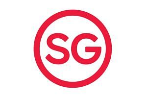 The new Passion Made Possible tagline is accompanied by a logo with the letters SG inside a circle.