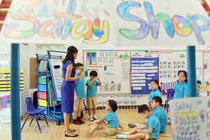 A class in session at the Ministry of Education-run MK@Punggol Green kindergarten. To bring about a more fair and just society, the PAP Government from the time of founding Prime Minister Lee Kuan Yew has stressed equal opportunities to education for