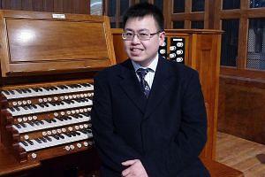 Organ builder Adriel Yap (above) found a safe space in music.