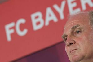 """""""In my opinion, there is no player in the world worth €100 million,"""" said Bayern Munich president Uli Hoeness on Wednesday (Aug 30)."""