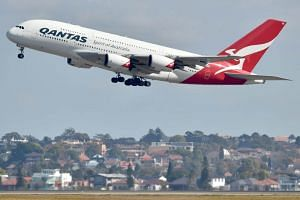 From next March, Qantas will also increase the number of Melbourne-Singapore flights and operate the service with the bigger A-380 instead of the current A-330.