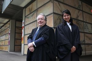Professor David Llewelyn, deputy dean of SMU School of Law, and Ms Beverly Lim Tian Ying were among the 483 lawyers called to the Bar at Mass Call 2017. Prof Llewelyn, who was admitted to the Bar of England and Wales in 1985, is an expert in intellec