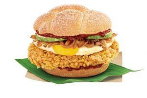 McDonald's popular nasi lemak burger is back for its second run.