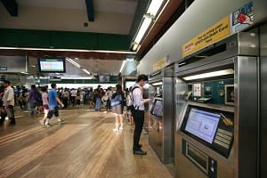 Cash top-ups can still be made at the general ticketing machines in the stations and at nearby convenience stores.