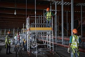 Singapore is aiming to reduce workplace facilities to less than one per 100,000 workers.