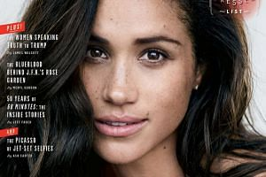Meghan Markle on the cover of Vanity Fair.