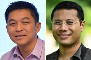 (Left) Mr Tan Chuan-Jin will be nominated as Speaker of Parliament when the House sits on Monday. (Right) Mr Desmond Lee will take over from Mr Tan as Minister for Social and Family Development.