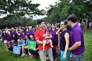 Minister Tan Chuan-Jin at an event for families last Saturday at Bishan-Ang Mo Kio Park. Those who have been studying the process of leadership renewal will conclude that Mr Tan is out of the running to be Singapore's fourth prime minister, having be