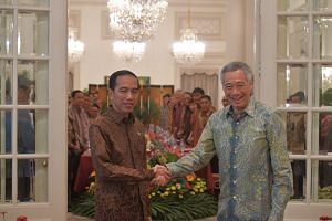 Singapore Prime Minister Lee Hsien Loong and Indonesian President Joko Widodo held a Leaders' Retreat and witnessed the signing of several memoranda of understanding on Sept 7, 2017.