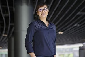 Ms Lee Ying Ying, who found out she had psychosis four years ago, is now a certified peer support specialist.
