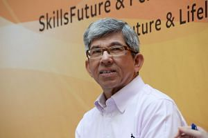 Minister-in-charge of Muslim Affairs Yaacob Ibrahim  in a file photo taken on July 22, 2017.