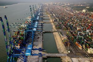 Industry officials say that two rival groups which handle nearly half the world's shipping capacity - THE Alliance and Ocean Alliance - started realigning in April, resulting in more than half of Port Klang's (above) Asia-Europe calls being shifted t