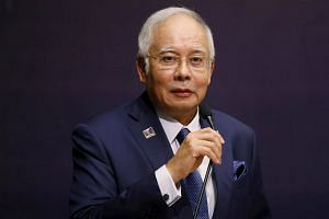 Mr Najib's comments come as Malaysia is seen leaning towards China, whose influence in South-east Asia has been growing compared to America's.