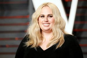 Actress Rebel Wilson at the Vanity Fair Oscar Party in Beverly Hills, California on Feb 28, 2016.